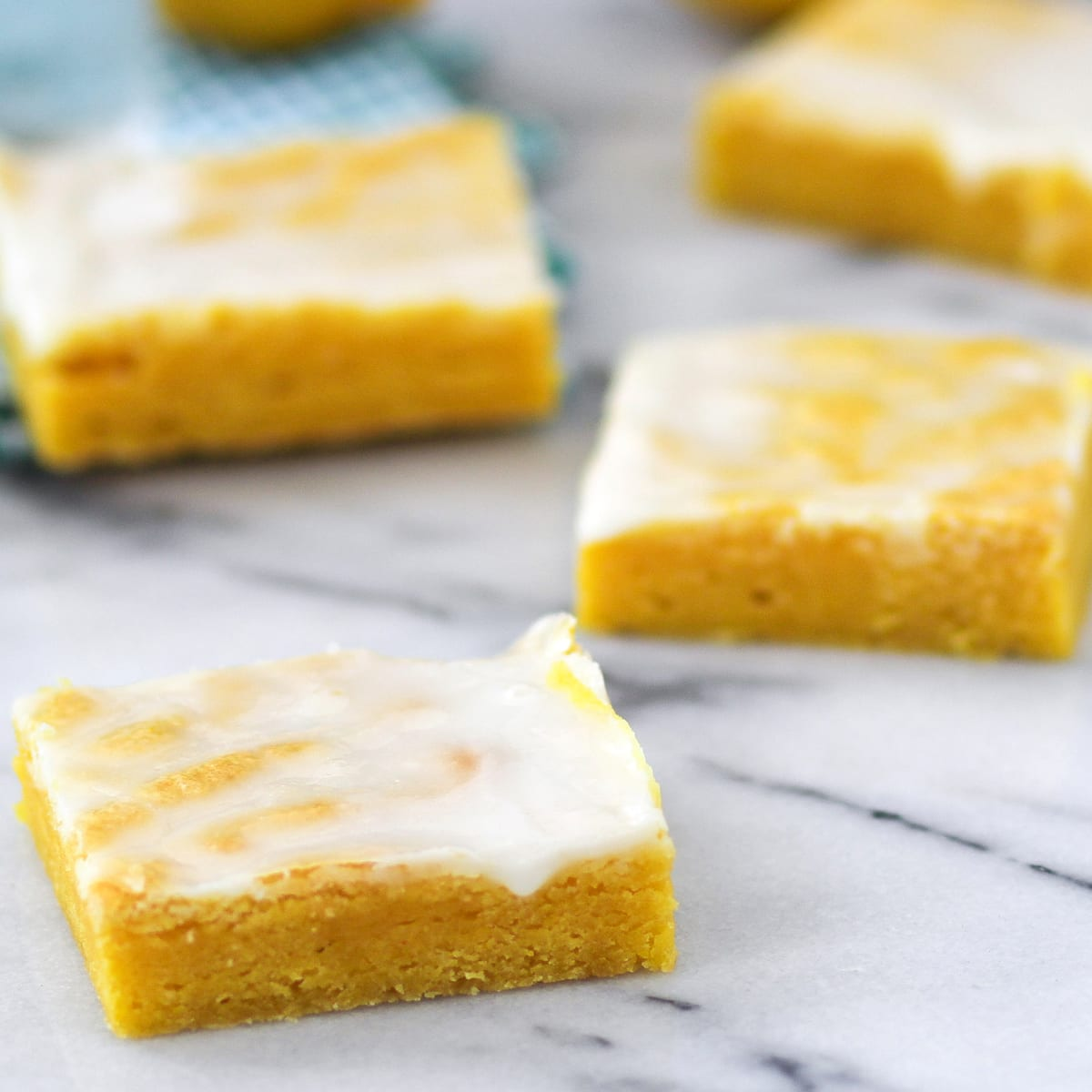 Cake Mix Lemon Bars Recipe Food Fanatic