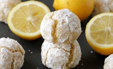 Gluten Free Lemon Crinkle Cookies Recipe