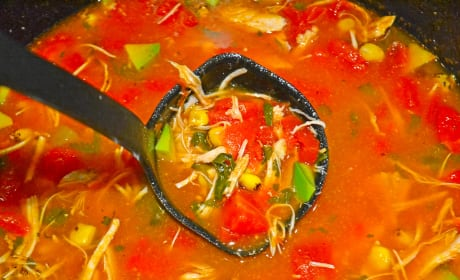 Mexican Chicken Soup Picture