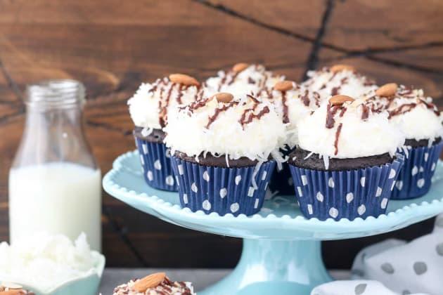 Almond Joy Cupcakes Photo