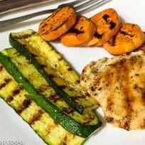 Quick Easy Grilled Chicken Dinner