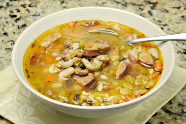 Sausage Bean Soup Photo