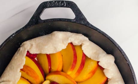 Peach Raspberry Galette Image