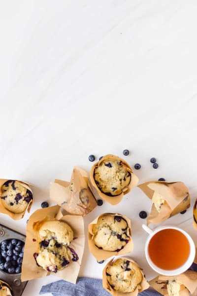 Blueberry Doughnut Muffins Image
