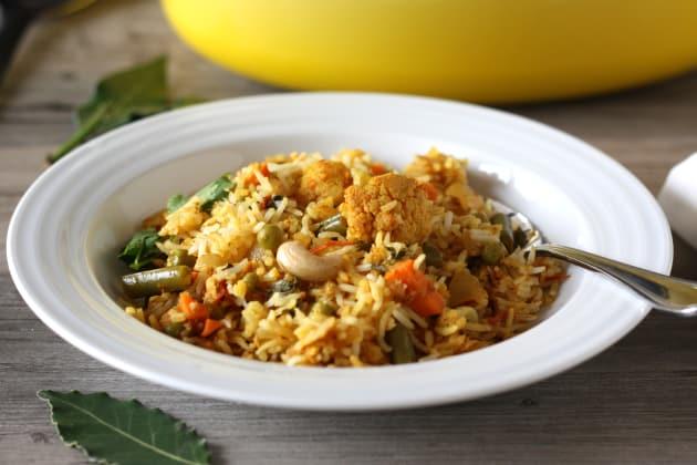 Vegetable Biryani Photo