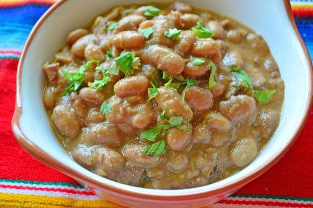 Slow Cooker Ranchero Beans Photo