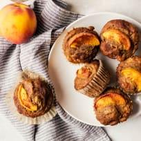 Peach Cinnamon Muffins Recipe