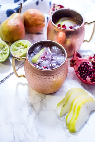 Pear Pomegranate Mule Image