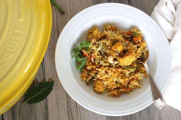 Vegetable Biryani Picture