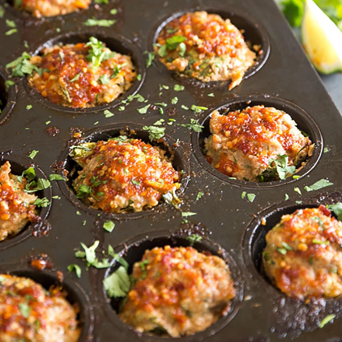 Thai Chili Mini Meatloaf Recipe Food Fanatic