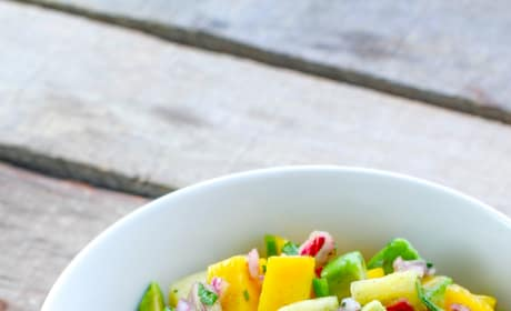 Fish Tacos with Tropical Vanilla Salsa Picture