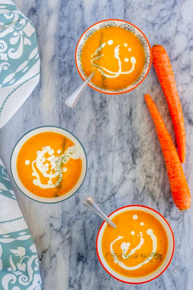 Carrot Soup Picture