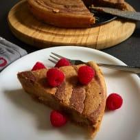 Banana Marble Cake - Low Sugar Cake Recipe