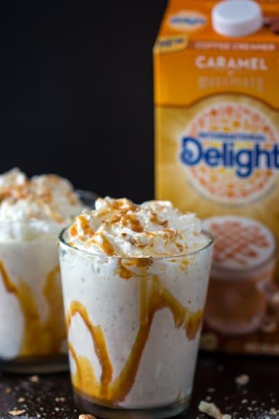 Caramel Macchiato Pretzel Milkshake Image
