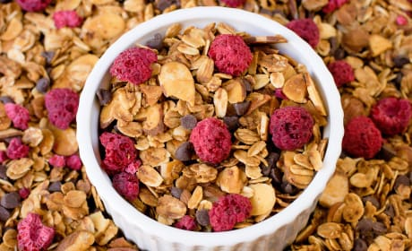 Raspberry Chocolate Chip Granola Photo