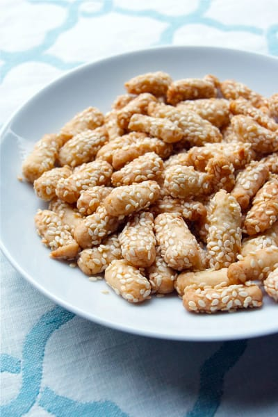 Buttery Sesame Sticks Picture