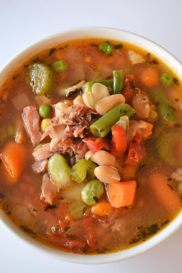 Ham Bone Soup Pic