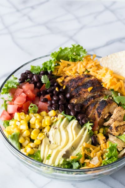 Chicken Taco Salad with Cilantro Ranch Picture