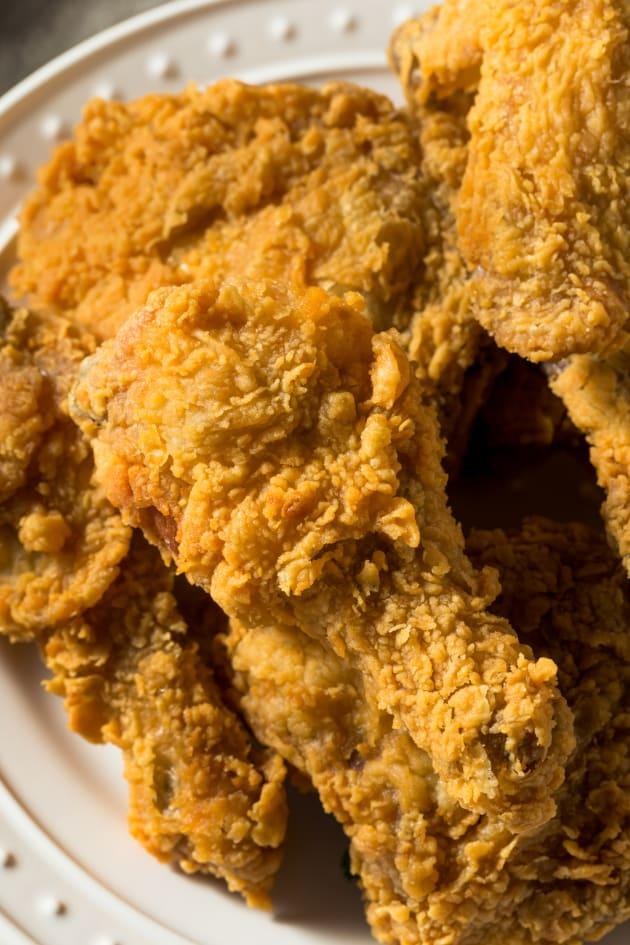 Fried Chicken Drumsticks Pic