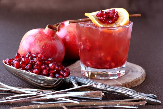 Pomegranate Old Fashioned Photo