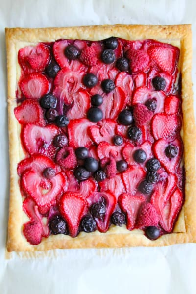 Mixed Berry Tart Pic