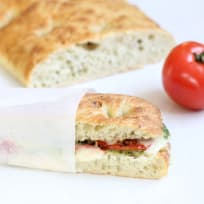 Roasted Tomato Mozzarella Panini Recipe