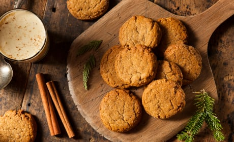 Gluten Free Ginger Snaps Image