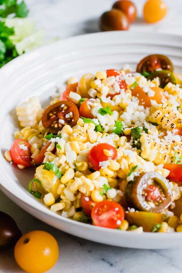 Roasted Corn and Tomato Salad Pic