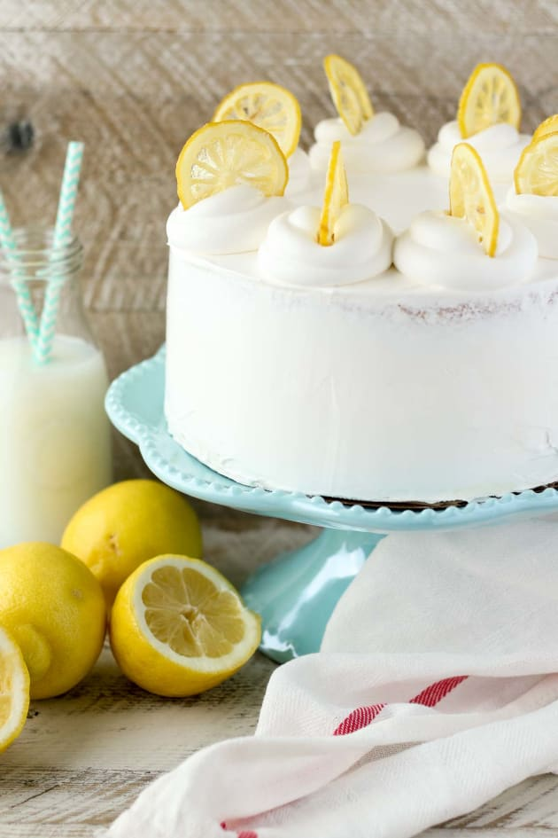 Lemon Ice Cream Cake Image