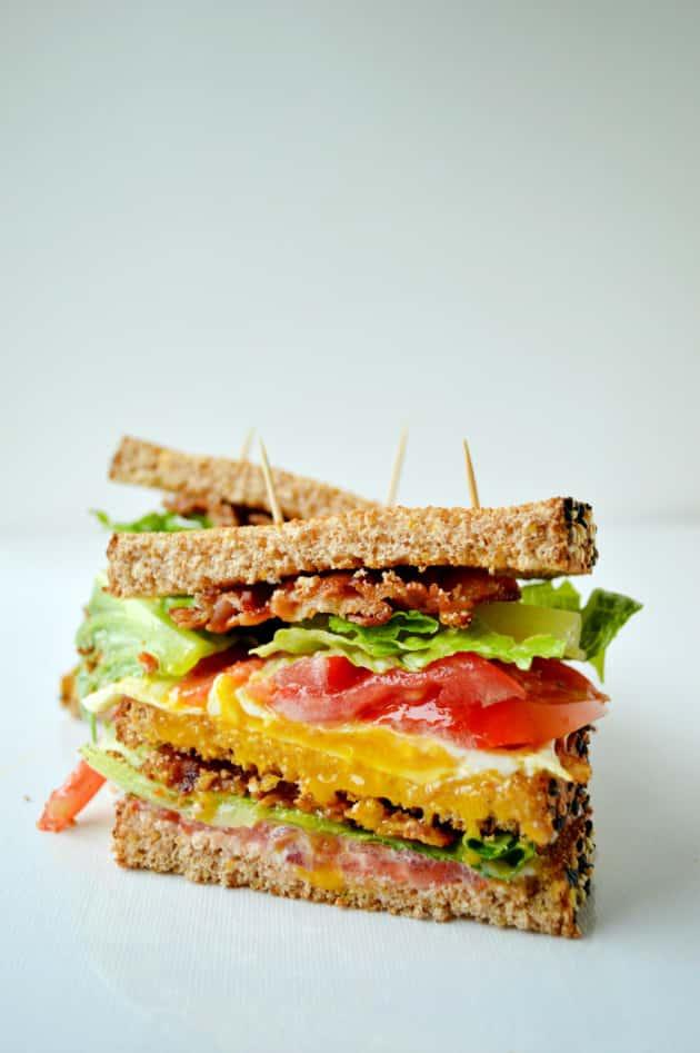 Breakfast Blt Sandwich Food Fanatic