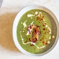Cream of Spinach Soup for Two Recipe