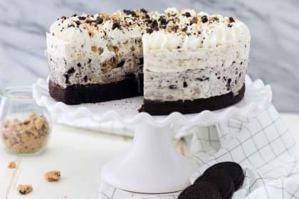 Oreo Brookie Mousse Cake Recipe