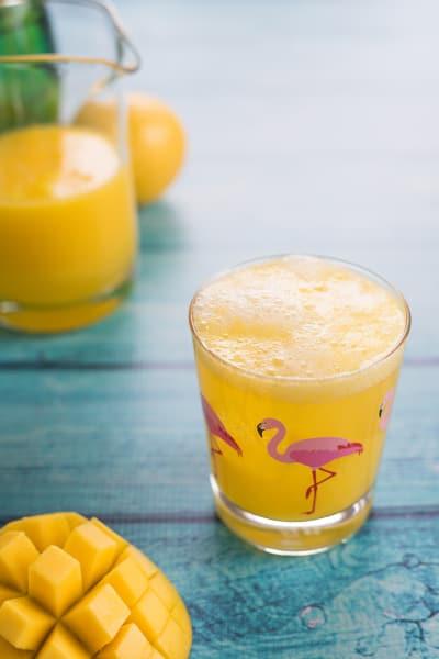 Sparkling Mango Lemonade Image
