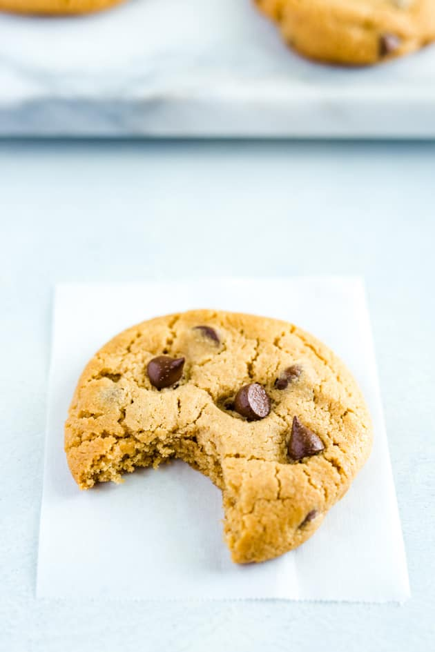Gluten Free Peanut Butter Chocolate Chip Cookies Pic