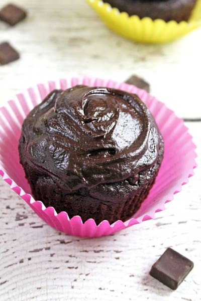 Chocolate Avocado Cupcakes Picture
