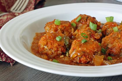 Baked Vegetable Manchurian