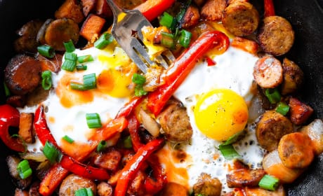 Buffalo Chicken Hash Recipe
