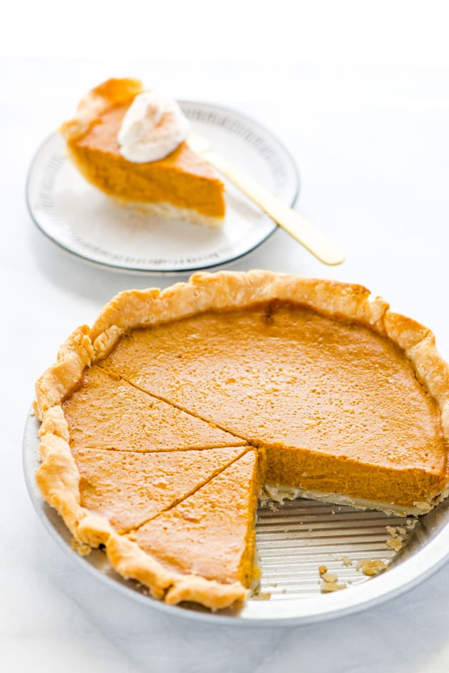 Gluten Free Pumpkin Pie Picture