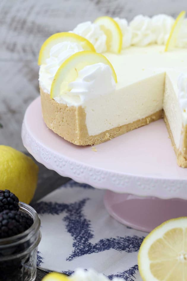 No Bake Lemon Cheesecake Pic