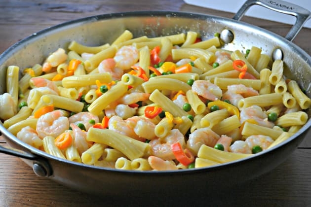 Shrimp Pasta Photo