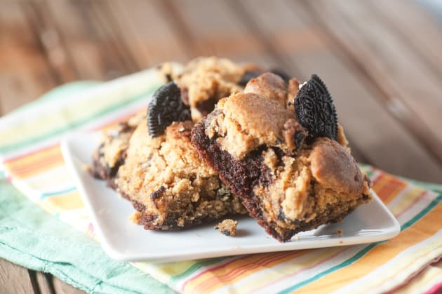 Oreo Peanut Butter Brownies Photo