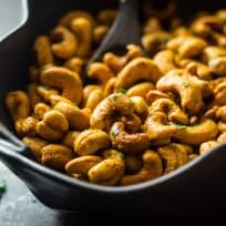 Thai Curry Cashews Recipe