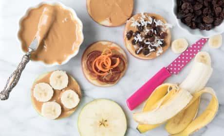 Apple Peanut Butter Sandwiches Recipe