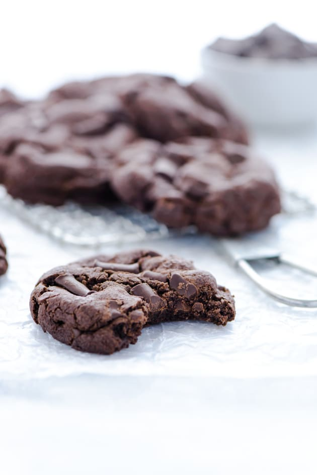 Gluten Free Double Chocolate Chunk Cookies Pic