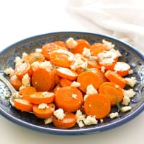 Roasted Carrots with Feta Recipe