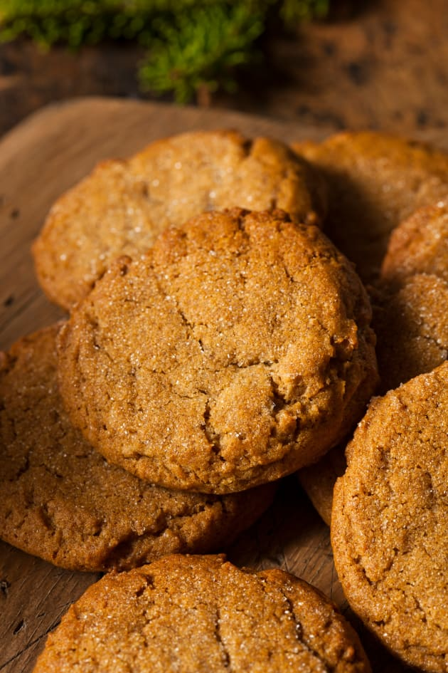 Gluten Free Ginger Snaps Picture