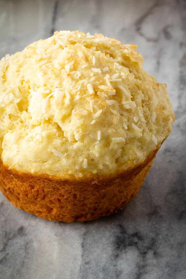 Lemon Coconut Muffins Pic