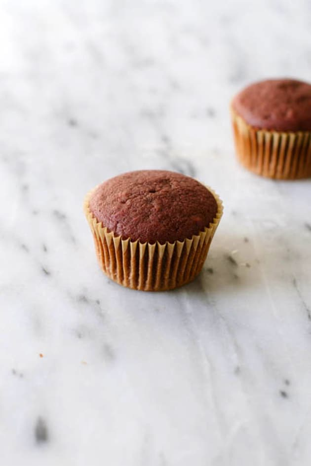 Vegan Red Velvet Cupcakes Picture