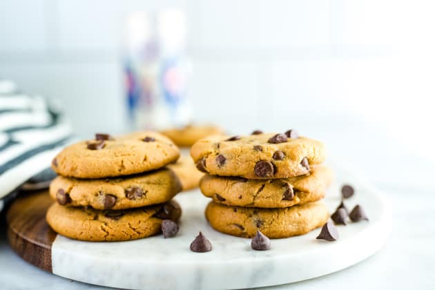 Gluten Free Peanut Butter Chocolate Chip Cookies Photo