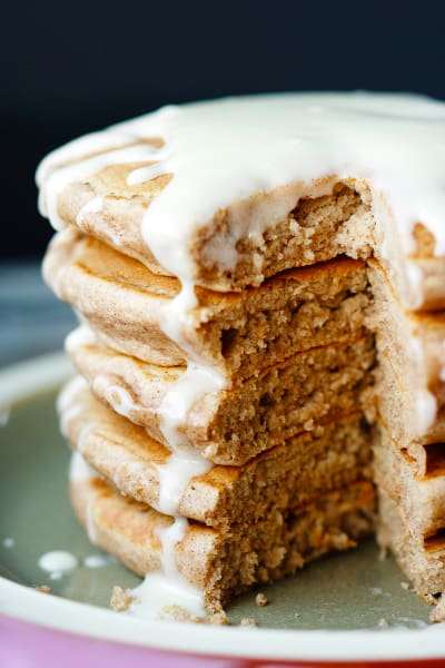 Cinnamon Roll Pancakes Pic